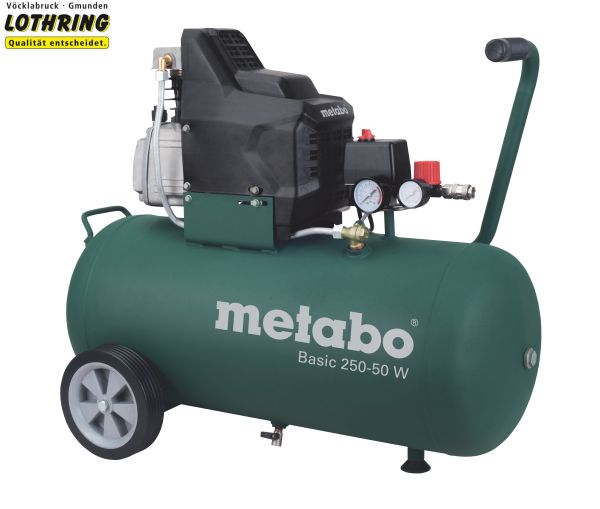 metabo kompressor basic 250 50 w ebay. Black Bedroom Furniture Sets. Home Design Ideas